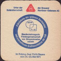 Beer coaster humbser-12-zadek-small