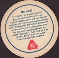 Beer coaster humbser-19-zadek-small