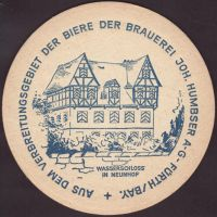 Beer coaster humbser-20-zadek-small