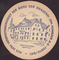 Beer coaster humbser-22-zadek-small