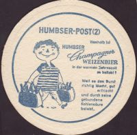 Beer coaster humbser-25-zadek-small