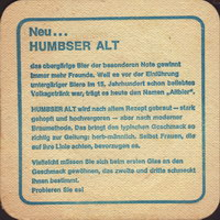 Beer coaster humbser-4-zadek-small