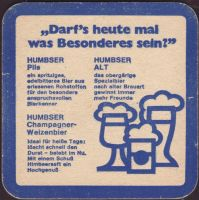 Beer coaster humbser-8-zadek-small