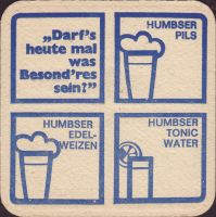 Beer coaster humbser-9-zadek-small