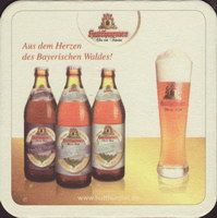Pivní tácek hutthurmer-bayerwald-17-zadek-small