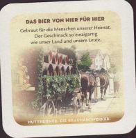 Pivní tácek hutthurmer-bayerwald-21-zadek-small