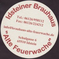 Beer coaster idsteiner-brauhaus-1-zadek-small