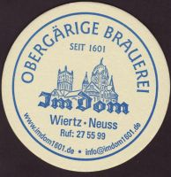 Beer coaster im-dom-1-small