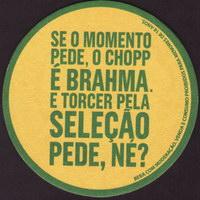 Beer coaster inbev-brasil-106-zadek