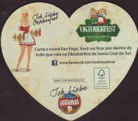 Beer coaster inbev-brasil-117-zadek
