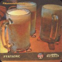 Beer coaster inbev-brasil-129-zadek