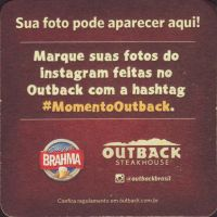 Beer coaster inbev-brasil-130