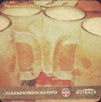 Beer coaster inbev-brasil-131-zadek