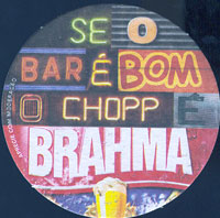 Beer coaster inbev-brasil-17