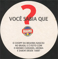 Beer coaster inbev-brasil-26-zadek