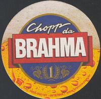 Beer coaster inbev-brasil-30