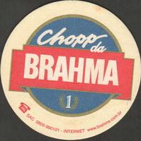 Beer coaster inbev-brasil-85-oboje