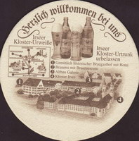 Beer coaster irseer-klosterbrauerei-2-zadek