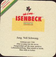 Pivní tácek isenbeck-17-zadek-small