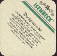 Pivní tácek isenbeck-19-zadek-small