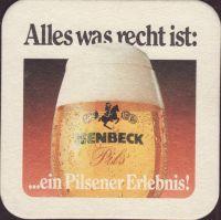 Pivní tácek isenbeck-22-zadek-small