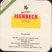 Pivní tácek isenbeck-5-zadek