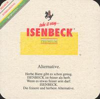 Pivní tácek isenbeck-8-zadek