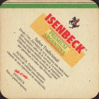 Beer coaster isenbeck-argentina-1-zadek