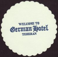 Beer coaster j-german-hotel-teheran-1-small
