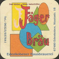 Pivní tácek jager-brau-edenkobener-hausbrauerei-1-oboje-small