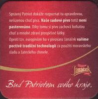 Beer coaster janacek-35-zadek
