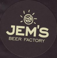 Beer coaster jems-beer-factory-1-small