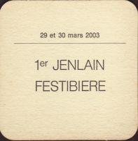 Pivní tácek jenlain-33-zadek