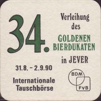 Beer coaster jever-149-zadek-small