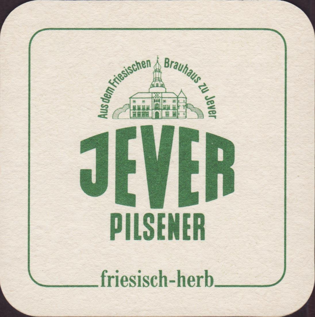 Beer coaster jever-39