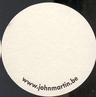 Pivní tácek john-martin-16-zadek