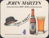 Pivní tácek john-martin-29