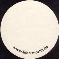 Pivní tácek john-martin-36-zadek