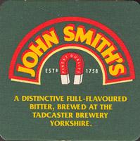 Pivní tácek john-smiths-22-zadek
