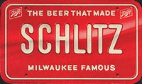Beer coaster jos-schlitz-2-oboje-small