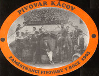 Beer coaster kacov-3