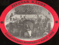 Beer coaster kacov-4