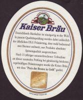Pivní tácek kaiser-brau-34-zadek-small