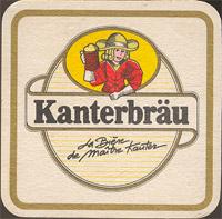 Beer coaster kanterbrau-17-zadek