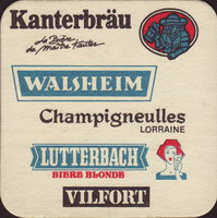 Beer coaster kanterbrau-33-zadek-small