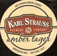 Beer coaster karl-strauss-2-small