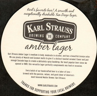 Beer coaster karl-strauss-2-zadek-small