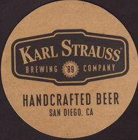 Beer coaster karl-strauss-5-small