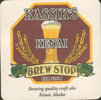Beer coaster kassiks-kenai-brew-stop-1