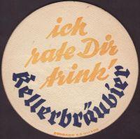 Pivní tácek kellerbrauerei-mitterbucher-sohne-3-zadek
